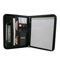 Buy cheap Document bag&folder Portfolio Notepad Jotter Organizer With Calculator and Pen Holder from wholesalers