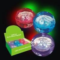 Buy cheap Easter 100mm Light Up Bouncing Ball from wholesalers