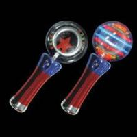 kids play toy 4th of july light up spinning ball wand