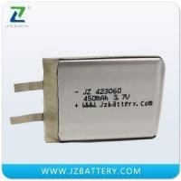 Buy cheap Rechargeable Battery LIPO JZ 423060LP 3.7V 450mAh from wholesalers