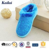 Buy cheap Slippers Embroidery Micro Velvet Out-seem Slipper from wholesalers