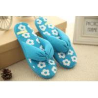 Buy cheap Slippers Blue Open-toed Woman Slippers from wholesalers