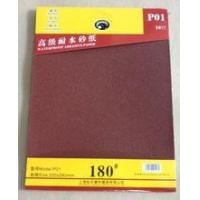 Buy cheap suit package red color aluminium oxide sandpaper for automobile/metal from wholesalers