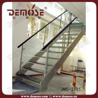 Buy cheap Modern Straight Glass Stairs from wholesalers