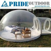 Buy cheap Clear Inflatable Lawn Tent Inflatable Bubble Dome Tent Camping Igloo Inflatable Clear Tent from wholesalers