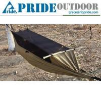 Multifunctional Survivors Ground Wear Tear Tent Swing Bed Camping Hammock With Mosquito Net
