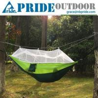 Buy cheap Ultralight Travel Portable Camping Hanging Bed Fabric For Hammock Swing With Mosquito Net from wholesalers