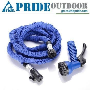 Quality New Product Automatic High Pressure Magic Flexible Water Retractable Expandable Garden Hose for sale
