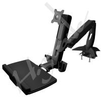 Buy cheap WST10 Sit-Stand Spring Arm Desk Mount Computer Workstation Combo System from wholesalers