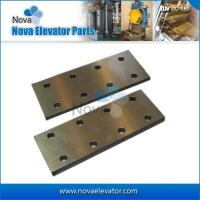 Buy cheap Elevator Parts, Elevator Fishplate, T70-1/B, T75-3/B, T89/B,T127-2/B Machined Guide Rail Fishplate from wholesalers