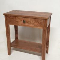 Buy cheap Solid Oak Small Hall Table W/ Drawer from wholesalers
