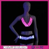 Buy cheap Light up women clothes YQ-11-25 luminous led top bra and pant product