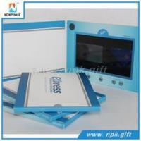 2016 New Business Gift Paper Invitation lcd Video Business Card