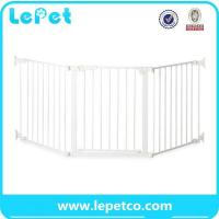 Buy cheap Pet Door for dogs pet safety door baby safety gate lockable safe flap wholesale supplier from wholesalers