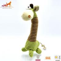 Buy cheap Giraffe Stuffed Dog Chew Toy from wholesalers