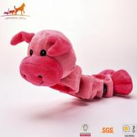 Buy cheap Tug Squeaky Dog Toy Pig from wholesalers