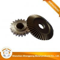 Buy cheap CNC Turning Parts OEM Bevel Gears from wholesalers