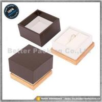 Buy cheap Jewelry Boxes JBW186R Luxury Lacquer Painting Wooden Jewelry Storage Box Wooden Ring Box from wholesalers
