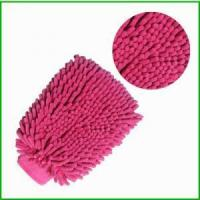 Buy cheap Plush Microfiber Car Wash Washing Cleaning Gloves from wholesalers