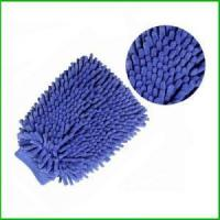 Buy cheap Microfiebr Chenille Mitt from wholesalers