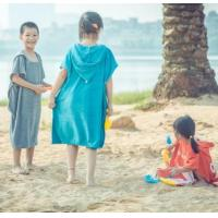 Buy cheap Poncho hooded towel kids from wholesalers