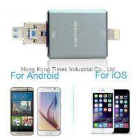Buy cheap OTG Flash Driver, USB Driver Micro TF Card HD for for Apple iPhone or Samsung Mo from wholesalers