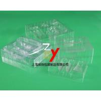 Buy cheap Thin slice of Blister cosmetic blister packing PVC transparent blister packing from wholesalers