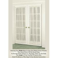 Buy cheap Door Panel Curtain in a Beautiful 'Crushed-Voile' from wholesalers