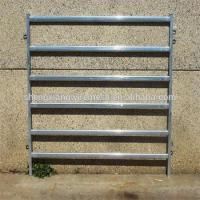 Buy cheap ISO9001 cheap price cattle farm equipment 1.8m x 2.4m 6 bar livestock yard panels from wholesalers
