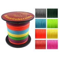 Buy cheap Bravefishermen Super Strong Pe Braided Fishing Line Multicolor from wholesalers