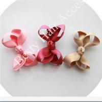 Buy cheap Little Girls Ribbon Bow Hair Clips from wholesalers
