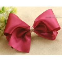 Buy cheap Girls Big Ribbon Bow Hair Clips from wholesalers
