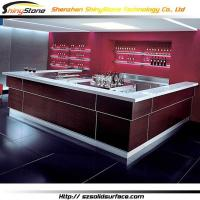 Buy cheap Bar Counter Corian bar Stylish U-shaped modern bar counter- STBC-008 from wholesalers