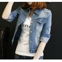Buy cheap d73454h 2016 fashion women clothing denim jacket wholesale women jacket coat from wholesalers