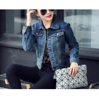 Buy cheap d73453h 2016 fashion ladies denim jacket wholesale women jacket coat from wholesalers