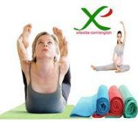 China Yoga towel and mat Super Absorbent Plus Microfiber Hot Yoga Towel on sale