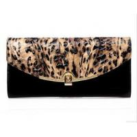 Buy cheap leopard print leather purses bags clutch from wholesalers