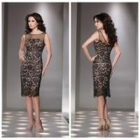 Buy cheap beautiful sexy fashion lady lace knee length latest night dress from wholesalers
