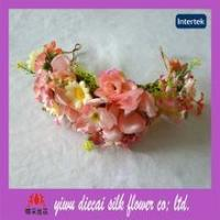 Buy cheap Ladies beautiful hair flower crown accessory from wholesalers