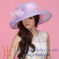 Buy cheap Ladies Organza Hat SM-0044 from wholesalers