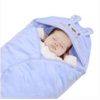 Buy cheap The newborn baby blankets and thickened with a towel velvet foot hold was even in winter from wholesalers