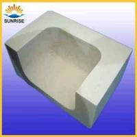 Buy cheap used in glass furnace fire brick prices for fused cast azs brick from wholesalers