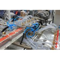 Buy cheap Plastic extrusion line WPC (wood plastic) profile extrusion line from wholesalers