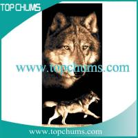 Buy cheap wolf beach towel bt0288 from Wholesalers