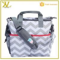 Buy cheap Fashional custom woman baby diaper bag, outdoor baby travel bag baby bag organizer from wholesalers