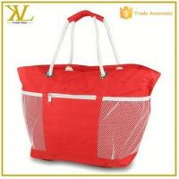 Buy cheap Fashion Big Capacity Canvas Tote Large Beach Bag With Rope Handles from wholesalers