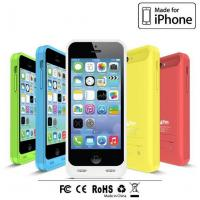 Buy cheap BC-I5C-01 2400mAh Backup battery case for iphone 5 C charger case from wholesalers