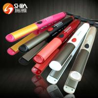Buy cheap SY-026 Professional 2 in 1 flat iron bling bling in frared ultrasonic hair straightener flat irons from wholesalers