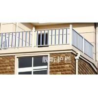 PVC balcony guardrail LX-06