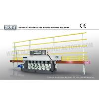 Buy cheap SKR-6 CE Glass Straight Line Round Edging Machine from wholesalers